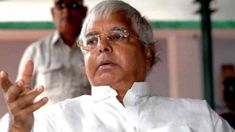 लालू बोले- पहले चारा घोटाले में अब बेनामी संपत्ति पर फंसाने की BJP की साजिश