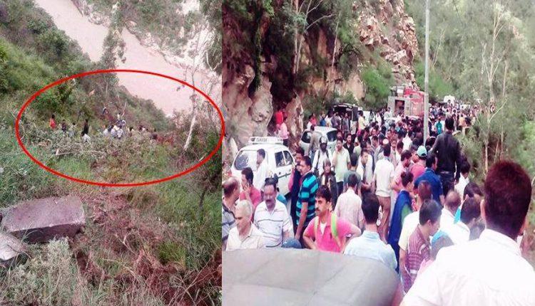 हिमाचल के रामपुर में बस हादसा , 28 लोगों की जान चली गई