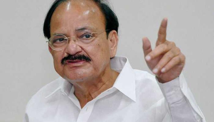वेंकैया नायडू होंगे देश के नए उप राष्ट्रपति, विपक्ष के उम्मीदवार गोपाल कृष्ण गांधी को हराया