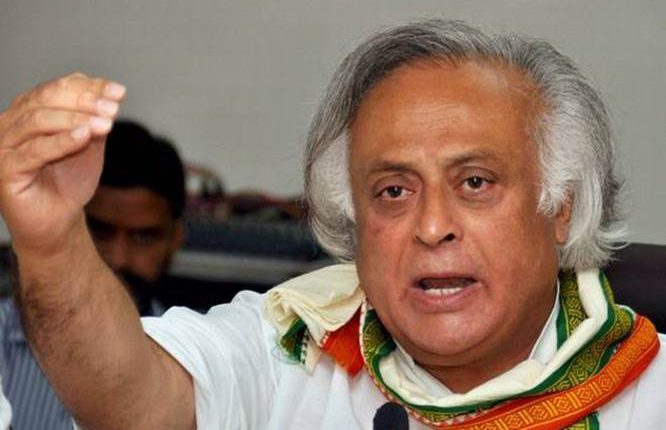 खतरे में  कांग्रेस का अस्तित्व: जयराम रमेश