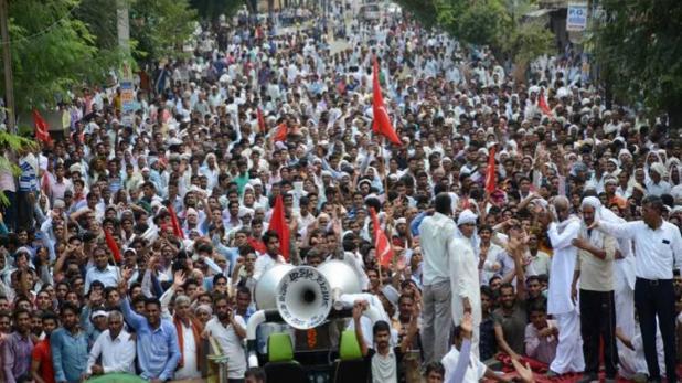 राजस्थान में किसानों का चक्का जाम, वार्ता पर उलझी सरकार