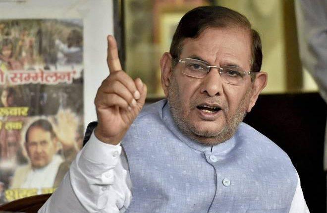 बिहार में शरद यादव ने नई पार्टी की शुरुआत की, चुने गए पदाधिकारी