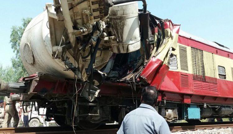 पंजाब: ट्रक और ट्रेन भिड़े, ट्रेन के ड्राइवर की मौत