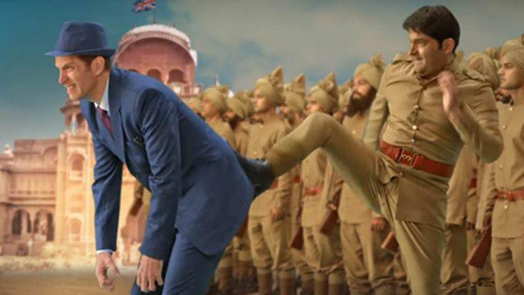 कपिल शर्मा की फिल्म 'फिरंगी' का मोशन पोस्टर हुआ रिलीज