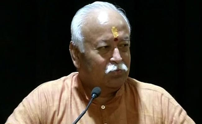मोहन भागवत ने कहा- हिंदुस्तान 'हिंदू राष्ट्र', यहां रहने वाला हर कोई 'हिंदू'